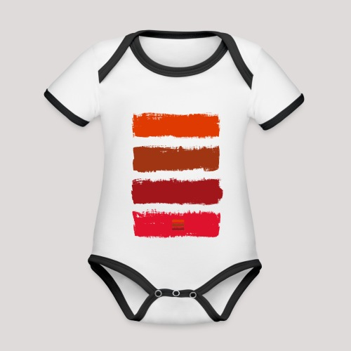 MK 20 - Organic Baby Contrasting Bodysuit