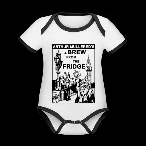 A Brew from the Fridge v2 - Organic Baby Contrasting Bodysuit