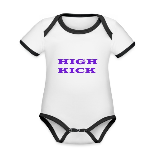 HIGH KICK HOODIE [LIMITED EDITION] - Organic Baby Contrasting Bodysuit