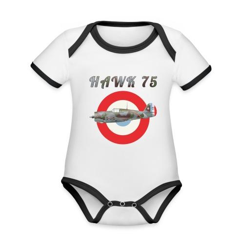 Hawk 75 - Organic Baby Contrasting Bodysuit