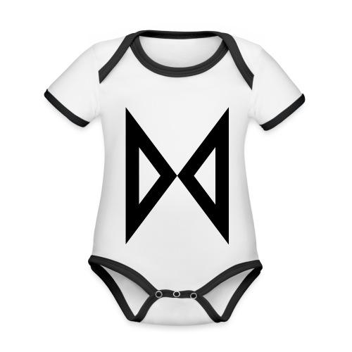 M - Organic Baby Contrasting Bodysuit