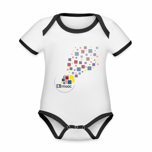 EBmooc T-Shirt 2018 - Baby Bio-Kurzarm-Kontrastbody