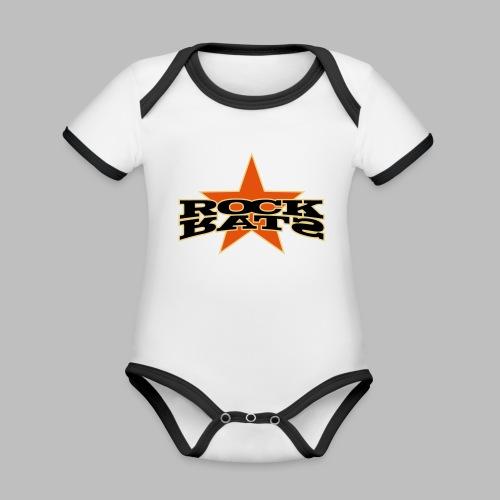 Rock Star - Baby Bio-Kurzarm-Kontrastbody