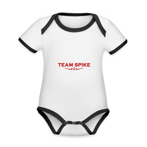 Team Spike - Organic Baby Contrasting Bodysuit