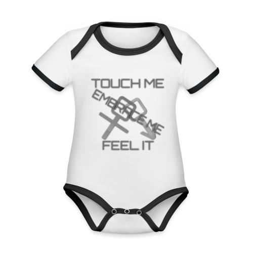 Sex & More retrò - Organic Baby Contrasting Bodysuit