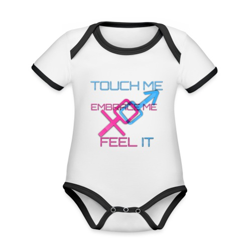 Sex and more up to - Organic Baby Contrasting Bodysuit