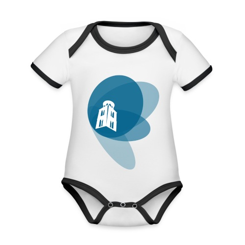 Maglietta a manica lunga - Body da neonato a manica corta, ecologico e in contrasto cromatico