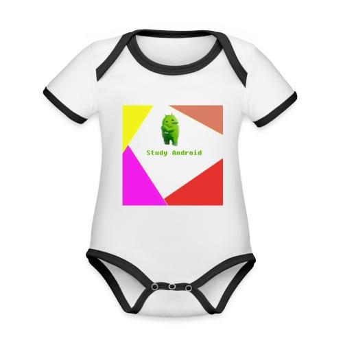 Study Android - Body contraste para bebé de tejido orgánico