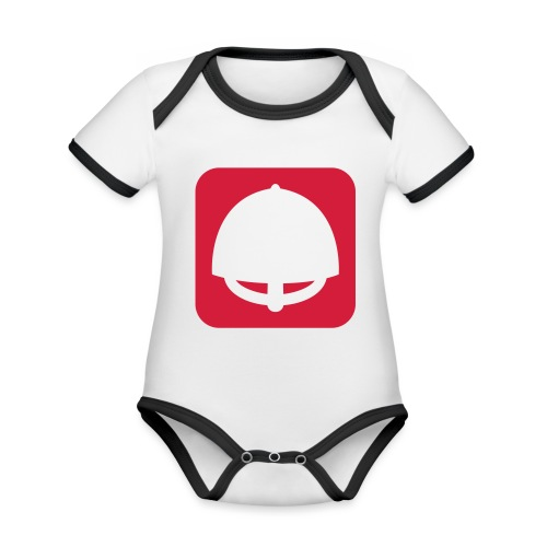 VHEH Sterkr 1 color - Organic Baby Contrasting Bodysuit