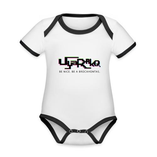Brocahontas - Organic Baby Contrasting Bodysuit