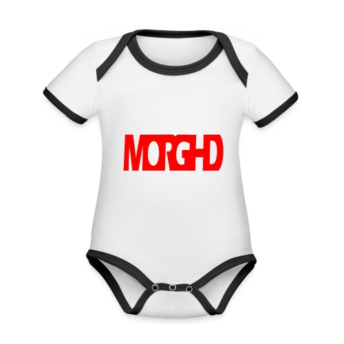 MorgHD - Organic Baby Contrasting Bodysuit