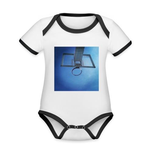 vida basket - Body contraste para bebé de tejido orgánico