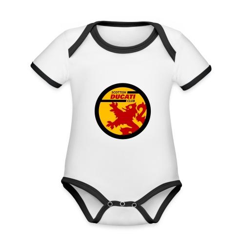 GIF logo - Organic Baby Contrasting Bodysuit