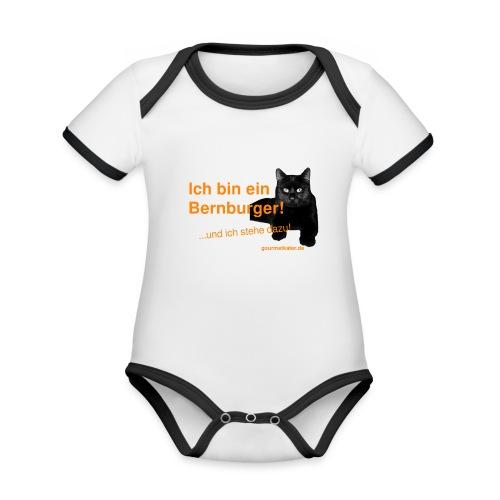 Statement Bernburg - Baby Bio-Kurzarm-Kontrastbody