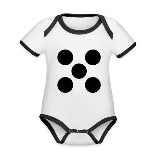 Dado - Body contraste para bebé de tejido orgánico