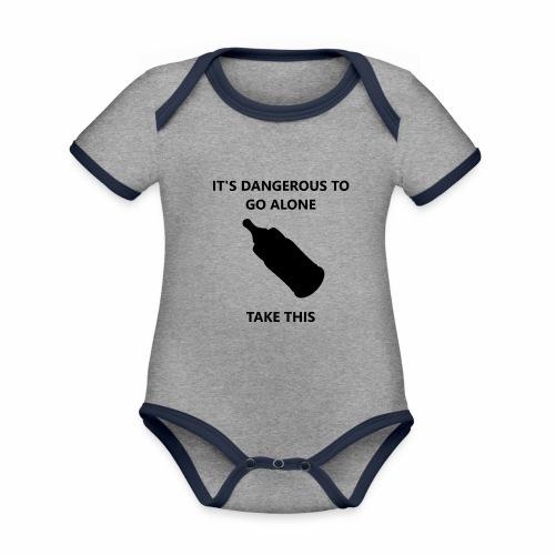 TTBabyBottle - Organic Baby Contrasting Bodysuit