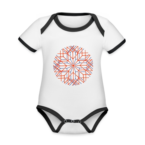 Altered Perception - Organic Baby Contrasting Bodysuit