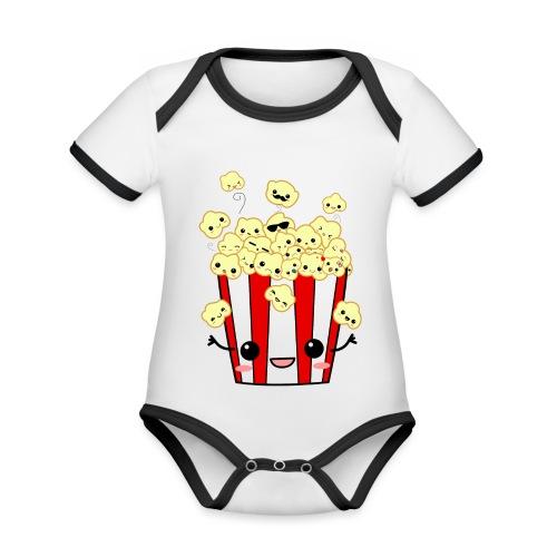 PopCorn - Body contraste para bebé de tejido orgánico