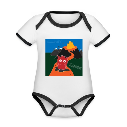 Inferno Lucie - Organic Baby Contrasting Bodysuit