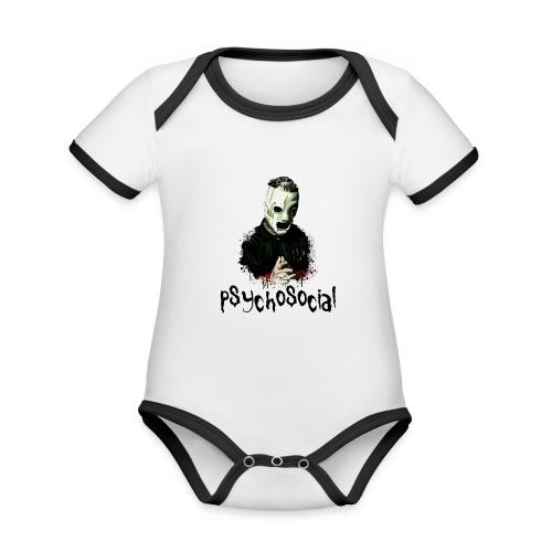 T-shirt - Corey taylor - Body da neonato a manica corta, ecologico e in contrasto cromatico