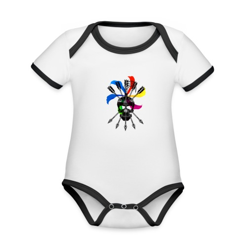 Blaky corporation - Body contraste para bebé de tejido orgánico