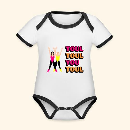 Toul Toul You Toul - Body Bébé bio contrasté manches courtes