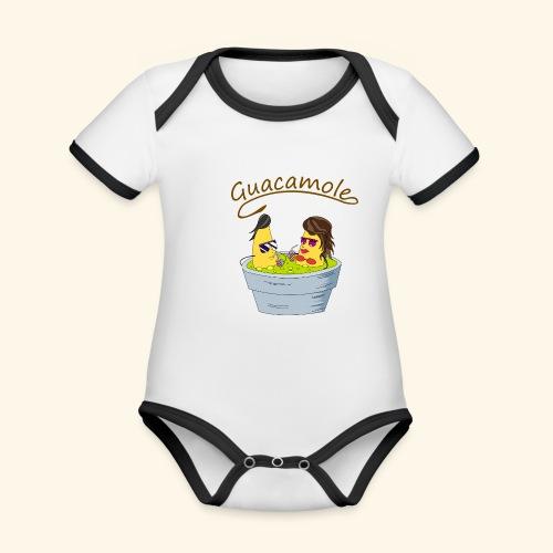 Guacamole - Body contraste para bebé de tejido orgánico