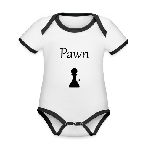 Pawn - Organic Baby Contrasting Bodysuit