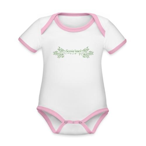 scoia tael - Organic Baby Contrasting Bodysuit