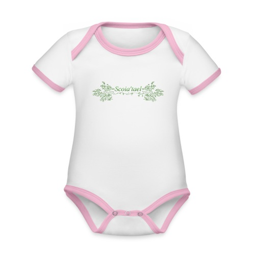 scoia tael - Organic Baby Contrasting Bodysuit