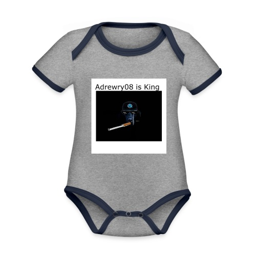 Archie Is Gay - Organic Baby Contrasting Bodysuit