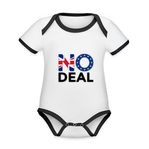 No Deal - Organic Baby Contrasting Bodysuit