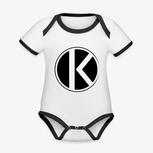 |K·CLOTHES| ORIGINAL SERIES - Body contraste para bebé de tejido orgánico