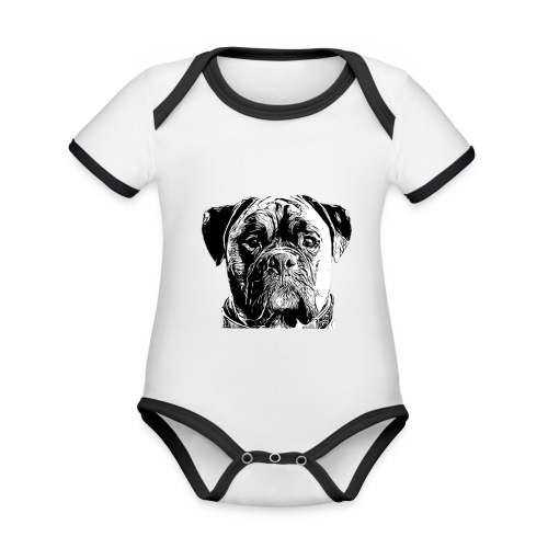 Diesel - Organic Baby Contrasting Bodysuit