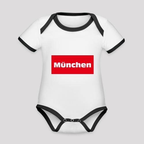 München - Baby Bio-Kurzarm-Kontrastbody