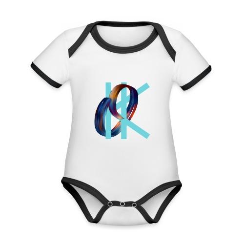 OK - Organic Baby Contrasting Bodysuit