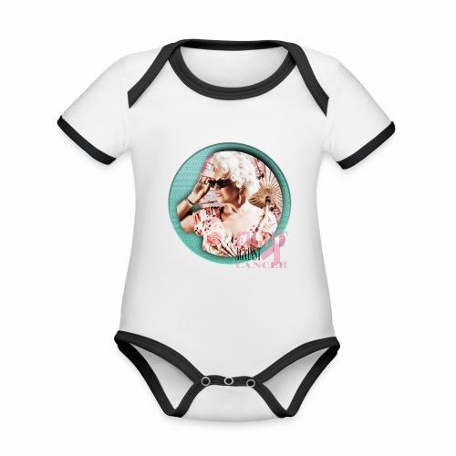 Fight against Cancer - Baby Bio-Kurzarm-Kontrastbody