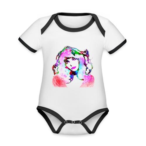 Painted Kate - Baby Bio-Kurzarm-Kontrastbody