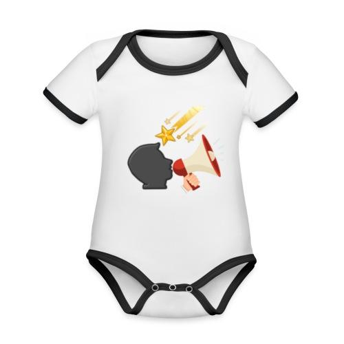 Christian Youtubers - Organic Baby Contrasting Bodysuit