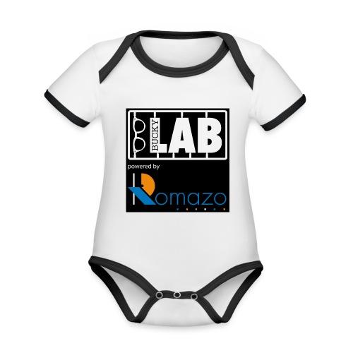tshirt 2 romazo kopie - Organic Baby Contrasting Bodysuit