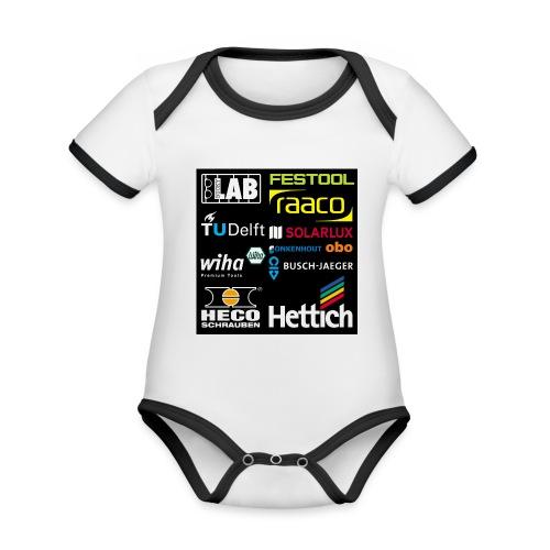tshirt 2 rueck kopie - Organic Baby Contrasting Bodysuit