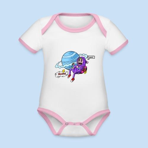 Prepare Uranus - Baby Bio-Kurzarm-Kontrastbody