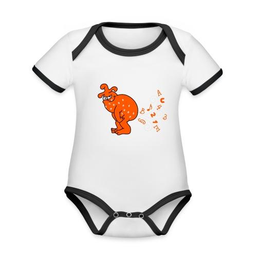 pupsmonster - Baby Bio-Kurzarm-Kontrastbody