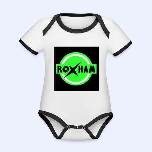 RoxHam-Button-2019 - Baby Bio-Kurzarm-Kontrastbody