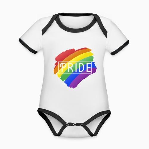 Pride - Organic Baby Contrasting Bodysuit