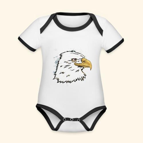 Aguila Emperador Kutuxa - Body contraste para bebé de tejido orgánico