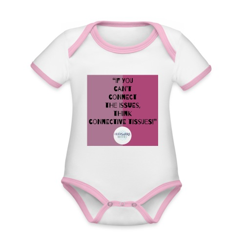 Ehlers-Danlos/ Connective Tissue Disorders - Organic Baby Contrasting Bodysuit