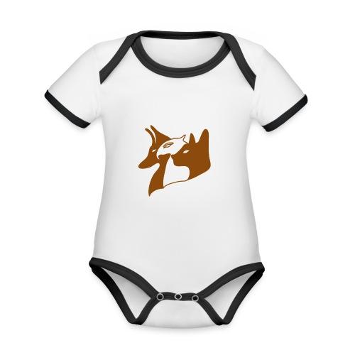 Aegypten - Baby Bio-Kurzarm-Kontrastbody