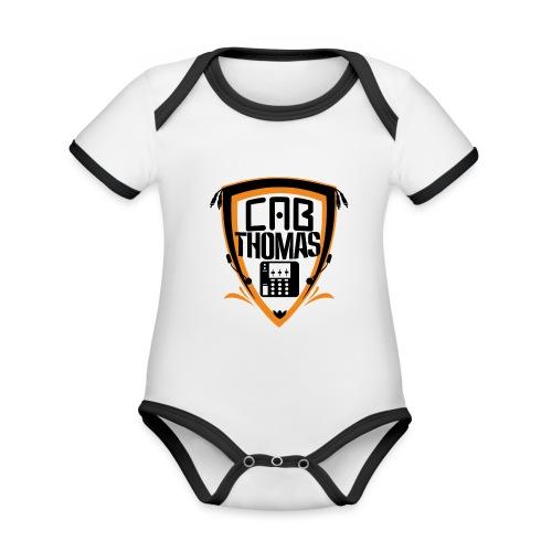 cab.thomas - alternativ Logo - Baby Bio-Kurzarm-Kontrastbody