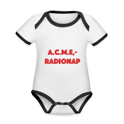 acmeradionaprot - Baby Bio-Kurzarm-Kontrastbody